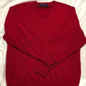 Mens Pringle 100% Super Fine Wool Sweater